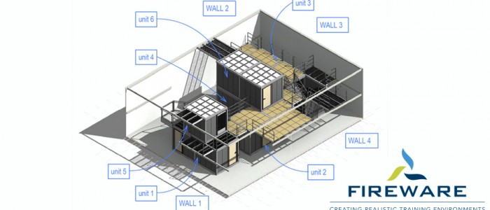Revolutionary modular training concept for Schiphol fire department