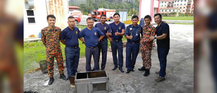 Twee Baarnse Mini Flashovers in Maleisië