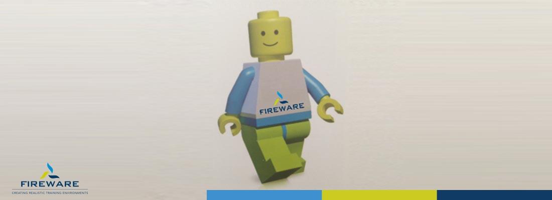 FireWare maakt brand met LEGO