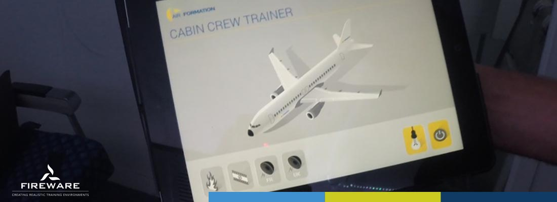 Installatie Cabin Crew Trainer Air formation 2