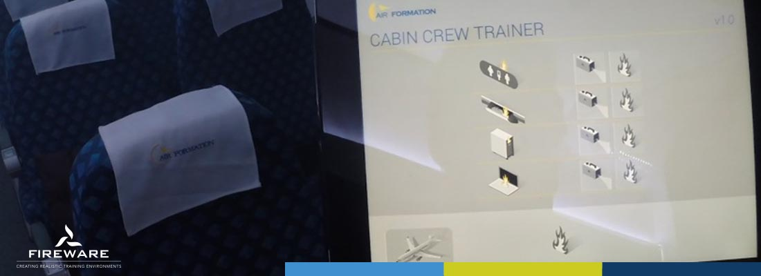 Installatie Cabin Crew Trainer Air formation 3