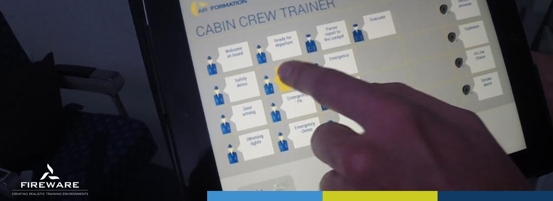 Installatie Cabin Crew Trainer Air formation 5