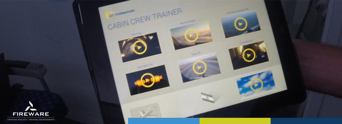 Installatie Cabin Crew Trainer Air formation