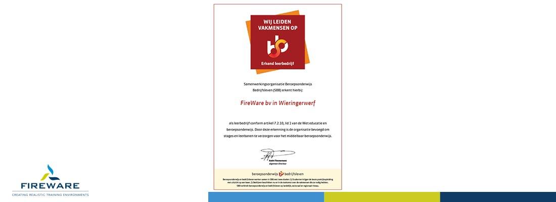 Uitbreiding erkenning leerbedrijf