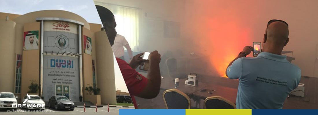 Ensceneringscursus Midden Oosten Dubai Civil Defence 2