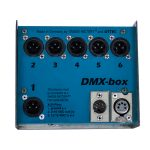 RST-701-108 DMX aansturing Klein Blauw Voorkant