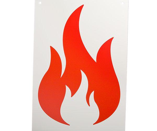 RST-711-102 Set Vlammenbord 4x