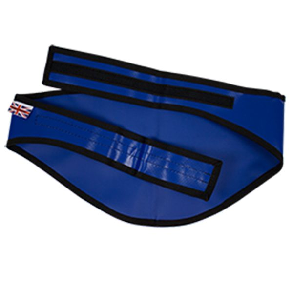 025-021-002 Blindmasker Brandweer Blauw Plat
