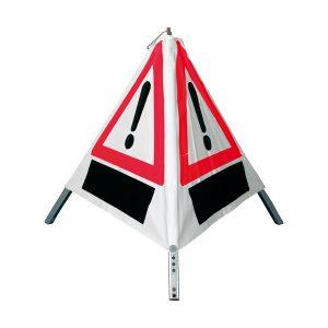 028-097-001 Plumobiel brandweer oefening driehoekbord