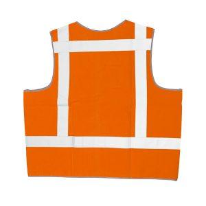 046-076-003 Signaalvest onbedrukt oranje