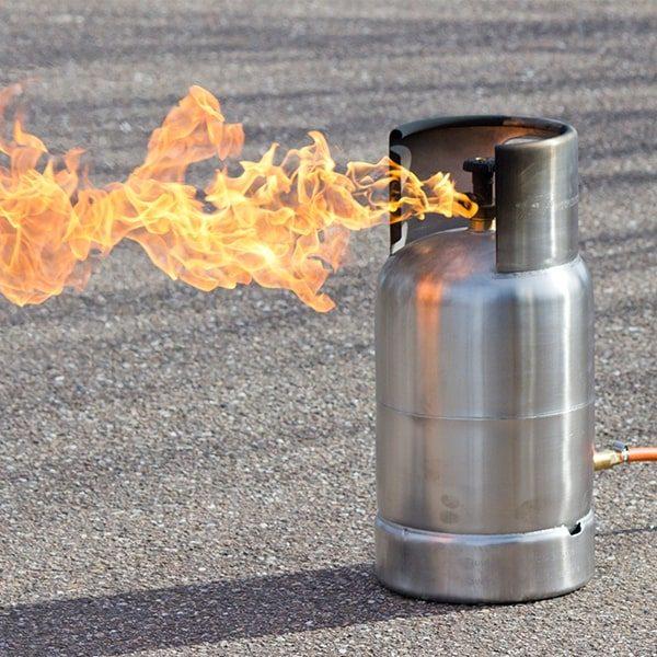 049-027-005 Stand-alone Gas Cylinder vlammen