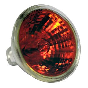 Reservelamp Mini Silkflame rood