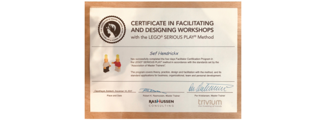 Lego Serious Play facilitator