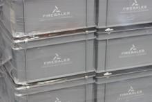 Verpakken in kunststof kratten