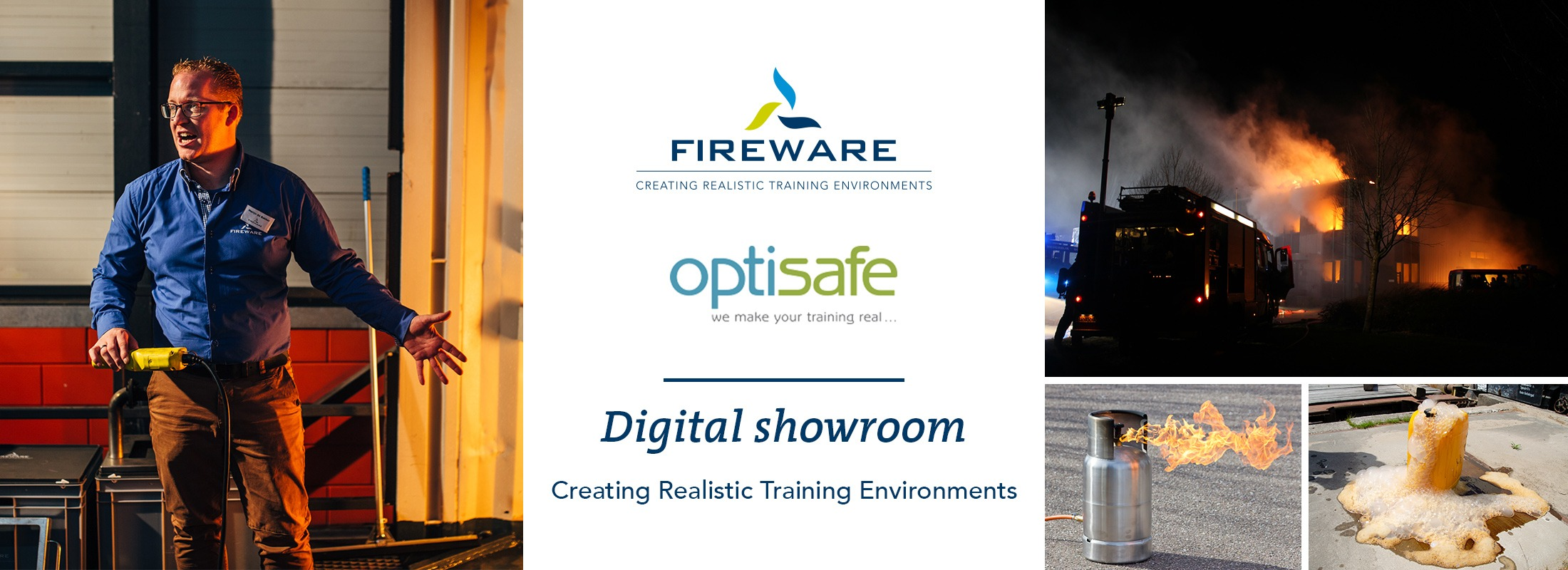 Optisafe digital showroom