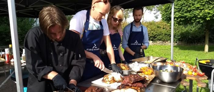 Barbecueworkshop ter gelegenheid van 14 jarig bestaan FireWare