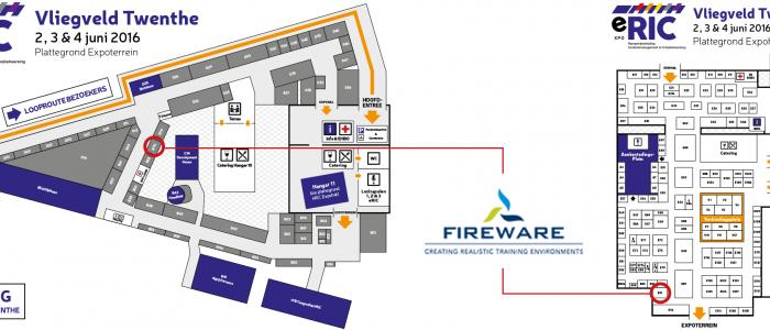 Bezoek FireWare op de eRIC 2016