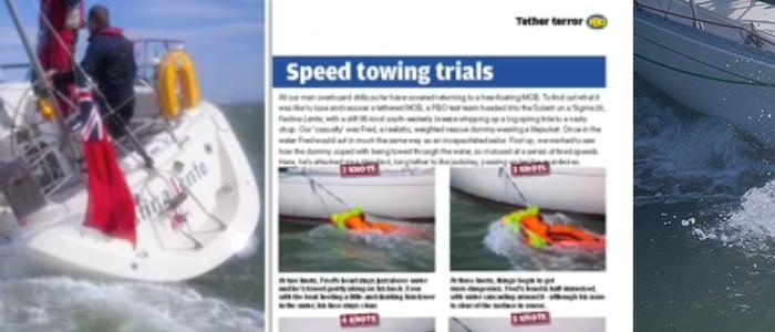 Een oefening waard: Hoe gevaarlijk is een safety-line op het water?