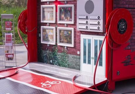 Elektrospel voor brandpreventie