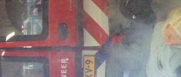 Ensceneringstraining bij brandweer Wormerland