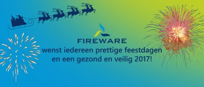 Fijne feestdagen namens FireWare