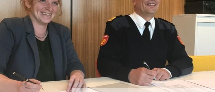 FireWare en VRU sluiten contract af voor leveren oefenmiddelen