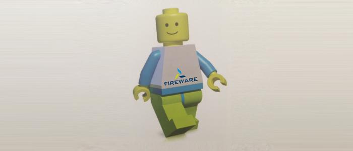FireWare maakt brand met LEGO®