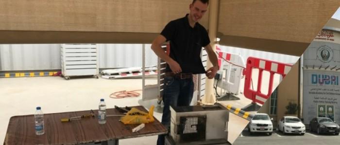 FireWare verzorgt eerste ensceneringscursus in het midden oosten voor Dubai Civil Defence