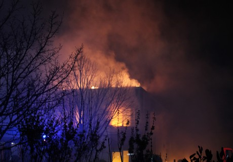 Gesimuleerde brand bij FireWare