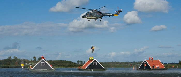 FloodEx: Huizen onder water