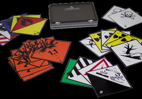 Magnetische Gevaarsymbolen Set