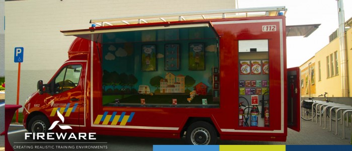 Van Vlam-voertuig gaat Hulpverleningszone Oost-Vlaams-Brabant ondersteunen bij voorlichting!