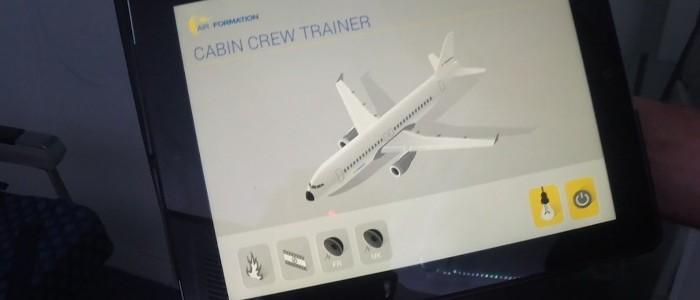 Installatie Cabincrew Trainer bij Air formation