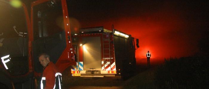 Grote Duinbrand Oefening Haarlem