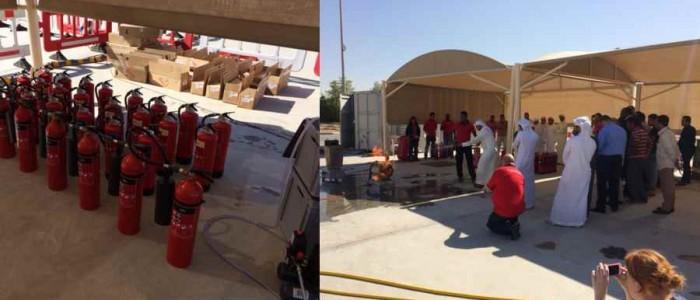 Oefenblussers ontworpen en geleverd in Dubai