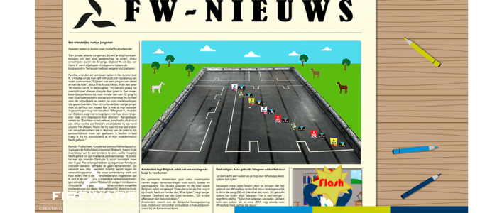 """Nieuw in de verhuur: Didactische Escaperoom """"De Razende Reporter"""""""