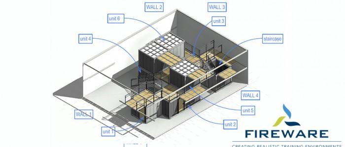 Revolutionair modulair oefenconcept voor Brandweer Schiphol
