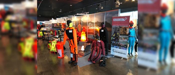 FireWare-Produkte auf der Messe Rescue 2018 in Island