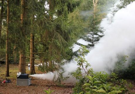 Bosbrand in Barneveld