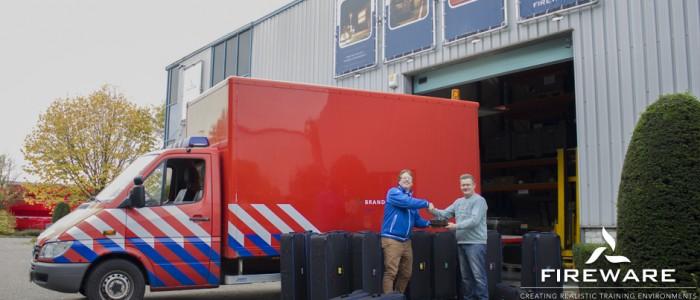 Pop-Up store brandweer Zeeland