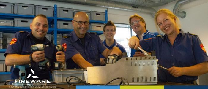 Training entretien de matériel de formation pour la région de sécurité Limbourg-Nord